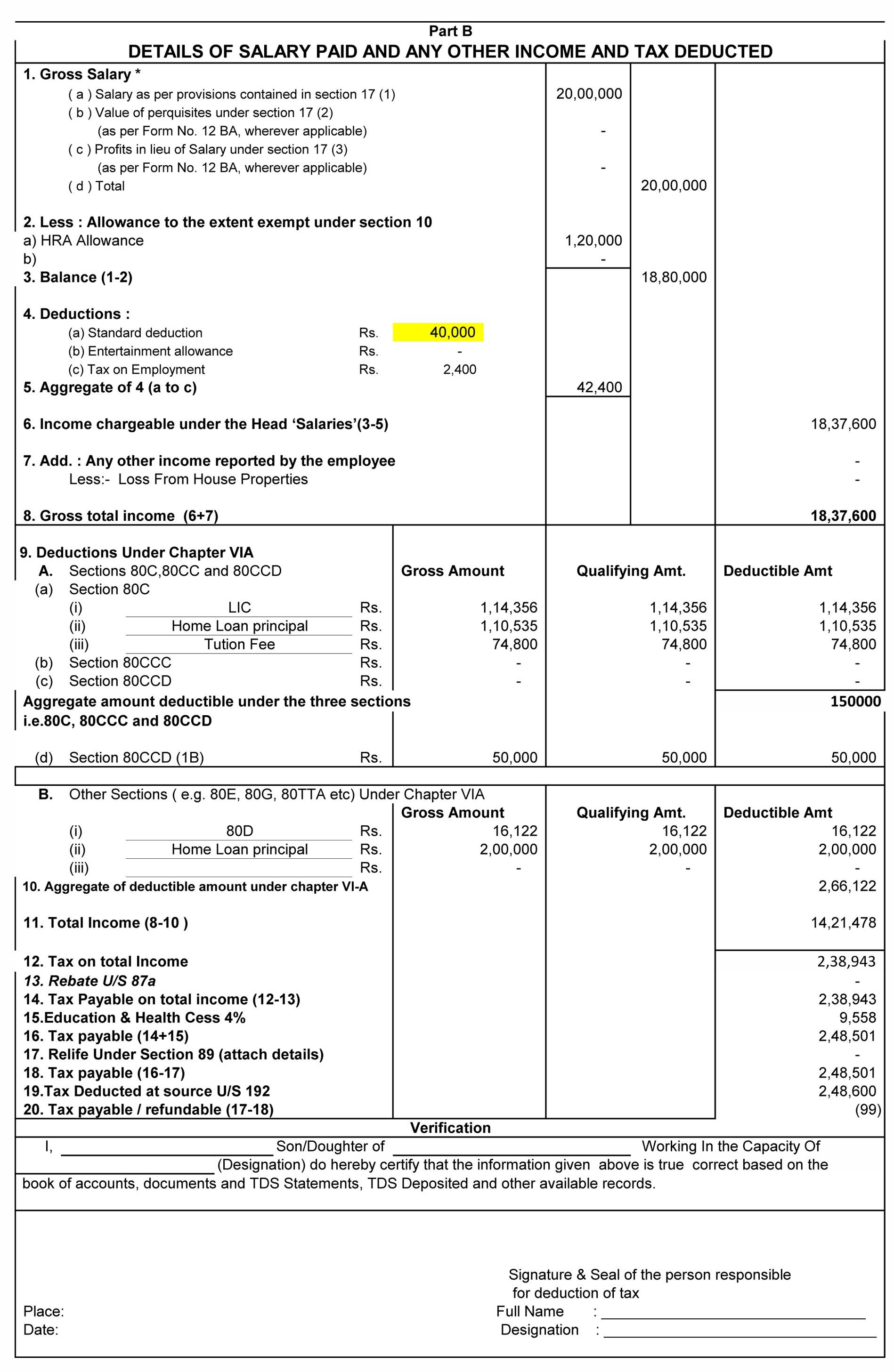 Income tax calculator 2018-19 excel